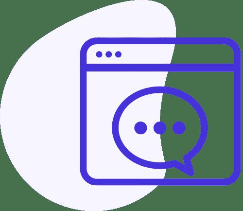 Icône pour le copywriting